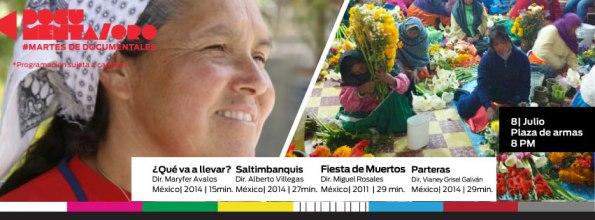 poster documentaQro Fiesta de muertos