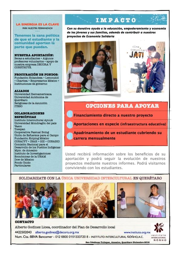 Promo donativo IIÑ Facebook 2