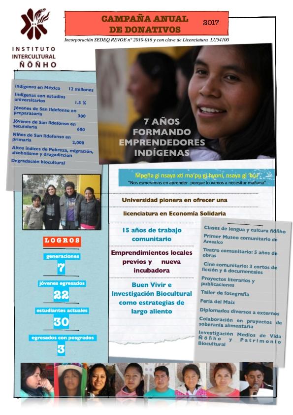 Promo donativo IIÑ Facebook